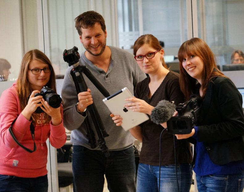 Das Team vom Mindener Tageblatt :)
